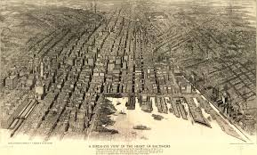 Birds Eye View Maps Birds Eye View Of Baltimore City Usa Before The Great Fire Of