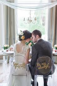 and groom chairs and groom chair signs for every s style wedding