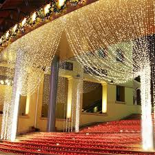 3m x 3m 300 led curtain lights outdoor background curtain