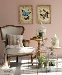 Home Interior Bird Cage Muy Romántico Un Rincón Decorado Con Jaulas Y Plantas Veladores