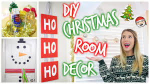 Pinterest Bedroom Decor Diy by Diy Pinterest Inspired Christmas Room Decor Youtube
