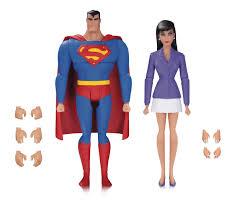 superman animated series superman lois af 2 pack