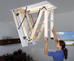 folding loft ladder concept for the tiny home instead of