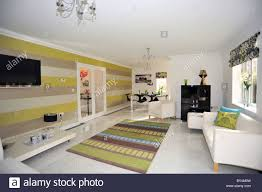 home interior design shows new show home lounge interior uk stock photo royalty free image