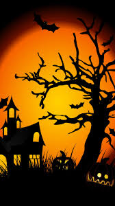 halloween android wallpaper asus zenfone 5 wallpaper the halloween scene mobile android