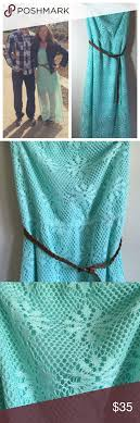 turquoise lace maxi dress this dress is gorgeous it is in