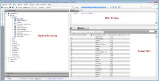 sql query browser tutorial query analyzer window