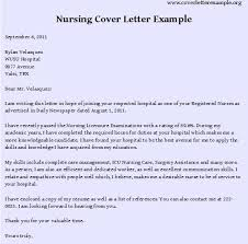 nursing cover letter nursing rn resume professional registered