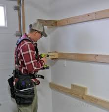 Basement Storage Shelves Woodworking Plans by Ana White Easy And Fast Diy Garage Or Basement Shelving For Tote