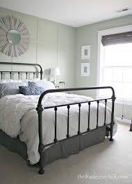 Paint Metal Bed Frame Best 25 No Headboard Bed Ideas On Pinterest No Headboard