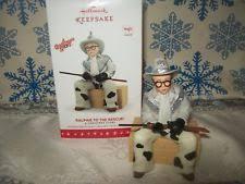hallmark ornaments story ebay