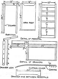 Free Plans To Build A Computer Desk by Wooden Desk Blueprints Plans Pdf Download Free Designs For