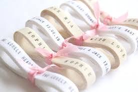 personalized wedding ribbon bespoke ribbon twill ribbon 6 yards personalized wedding