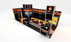 brede allied custom booths exhibit design by andreas ref at coroflot stand design