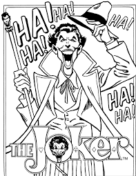 The Joker Coloring Pages Coloringstar Coloring Pages Joker