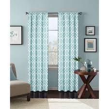 better homes and gardens ironwork printed window curtain rod