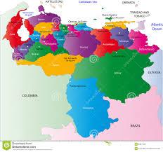 Venezuela World Map by Venezuela Map Royalty Free Stock Image Image 6997126
