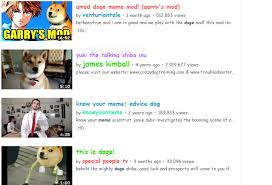 Doge Meme Youtube - doge meme youtube easter egg
