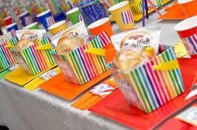 Kara U0027s Party Ideas Rainbow Art Party Via Kara U0027s Party