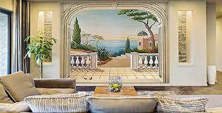 papier peint trompe l oeil chambre décoration murale trompe l oeil sur papier peint ou toile belmon déco