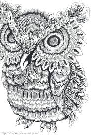 coloring pages coloring book owl enchanted forest colouring book
