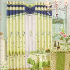 Light Green Curtains Decor Light Green Cotton Bedroom Drapes And Curtains