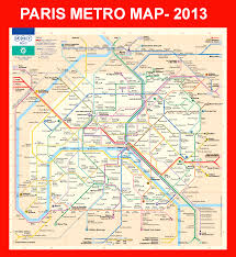 Metro Map Chicago by Paris Metro Map Paris Has One Of Easiest Metro Systems To Follow