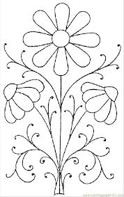 flower template colour free download clip art free clip art