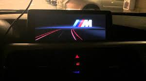 m bmw bmw f30 2014 335i nbt navigation m logo startup bmw coding