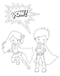 superhero coloring pages http designkids superhero