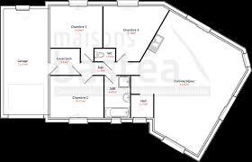 plan de maison en v plain pied 4 chambres plan maison en v plain pied de gratuit 6 4 chambres systembase co