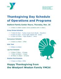 westport weston family ymca ymca open on thanksgiving day nov