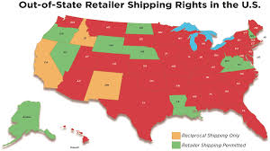 How To Ship A Desk U S Wine Shipping Laws State By State News News U0026 Features