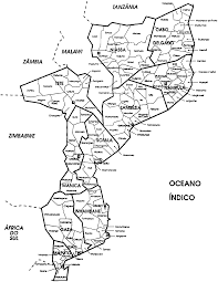 Mozambique Map Map 11 Mozambique