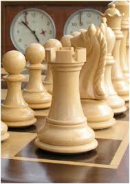a beautiful solid rosewood chess set this set is a great example