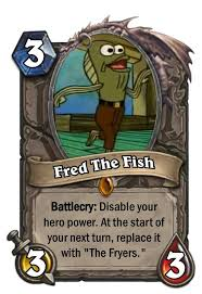 Rev Up Those Fryers Meme - crossover cards spongebob squarepants 7 hearthstone amino