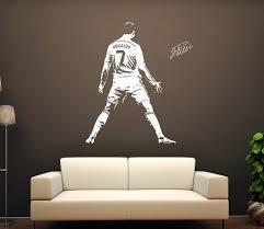 Schlafzimmer Wandtattoo Cristiano Ronaldo 7 Wandtattoo Cr7 Player Kids Nursery
