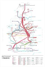 Map Of Westeros World by Game Of Thrones Transit Maps U2014 Michael Tyznik