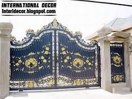 home gate design 2016 sliding iron gate designs modern gates design popideas