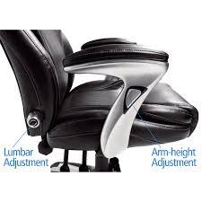 serta bonded leather ergo executive office chair hayneedle