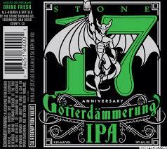 Stone 17th Anniversary Götterdämmerung IPA label approved | BeerPulse