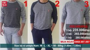 Bá ™ ni uniqlo] Quần áo xuất khẩu H Ná ™i Bá ™ Ná ‰ Nam Uniqlo 2016