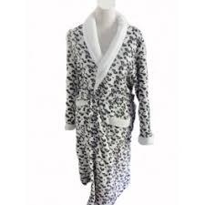 robe de chambre leopard robe de chambre léopard avec capuche taille m l xl couleur