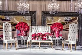 indian wedding chairs for and groom indian wedding with vibrant colors and gorgeous roses inside