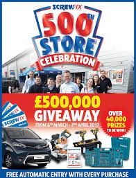 500th store screwfix website