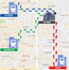 University Of Utah Campus Map by 102 Tower Commute Let U0027s Talk Trax University Information