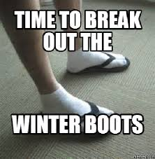 Winter Meme - how buy winter boots for men