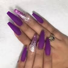 acrylic nails creative acrylic nails purple design ideas trends