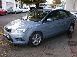 used ford focus tdci used ford focus 2008 blue colour diesel 1 6 tdci zetec 5 door