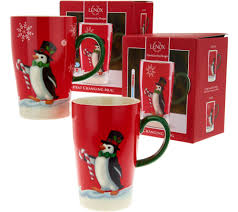 Decorating Porcelain Mugs Lenox Porcelain Set Of 2 Magic Mugs In Gift Boxes Page 1 U2014 Qvc Com